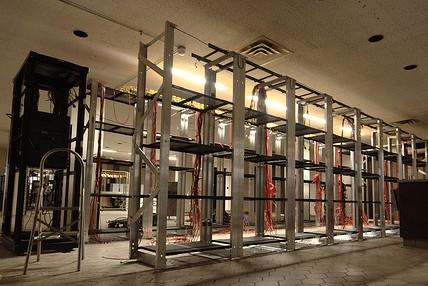 empty data center