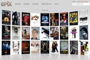 epix homepage