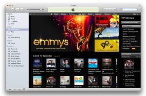 iTunes sans TV rentals