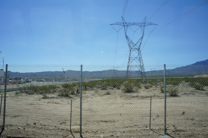 There's three transmission lines at Ivanpah