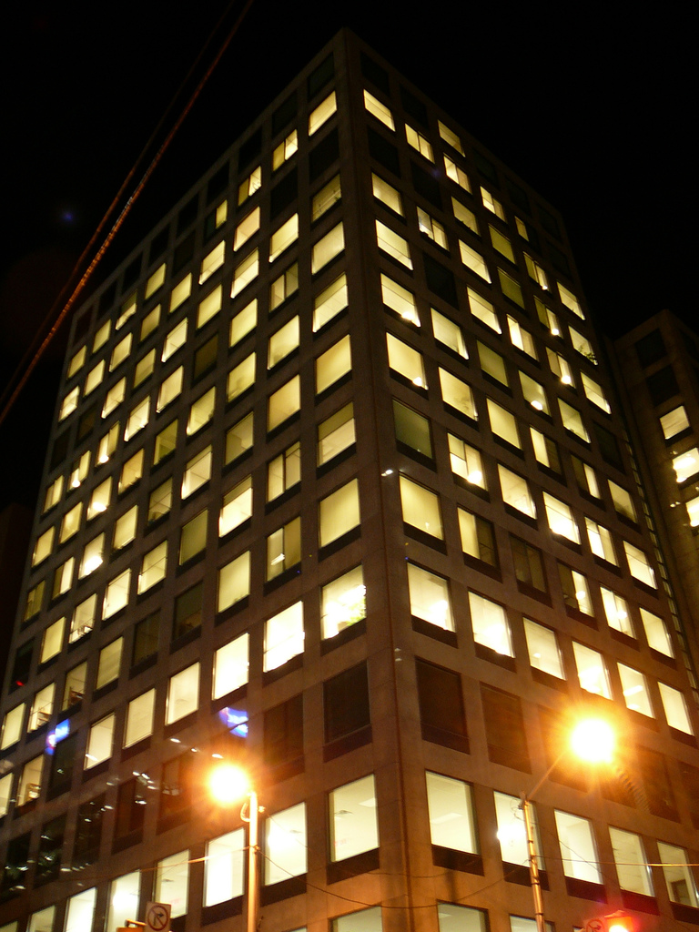lightedofficebuilding
