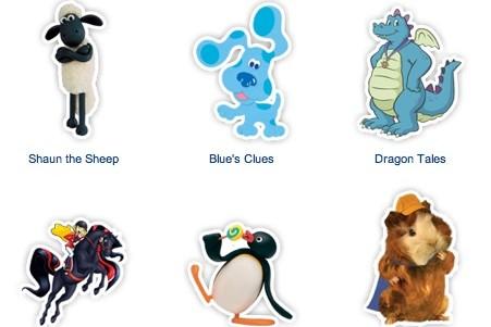 netflix characters
