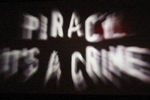 Piracy, it's a crime - by flickr user Stephen Dann