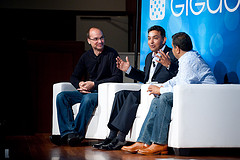 Android Fireside Chat with Google's Andy Rubin and Motorola's Sanjay Jha at Mobilize 2009