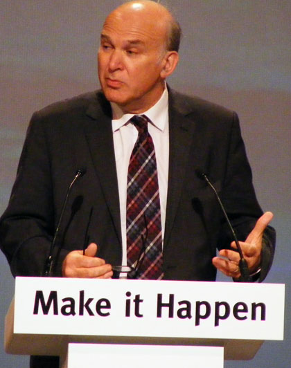 Vince Cable by dspender