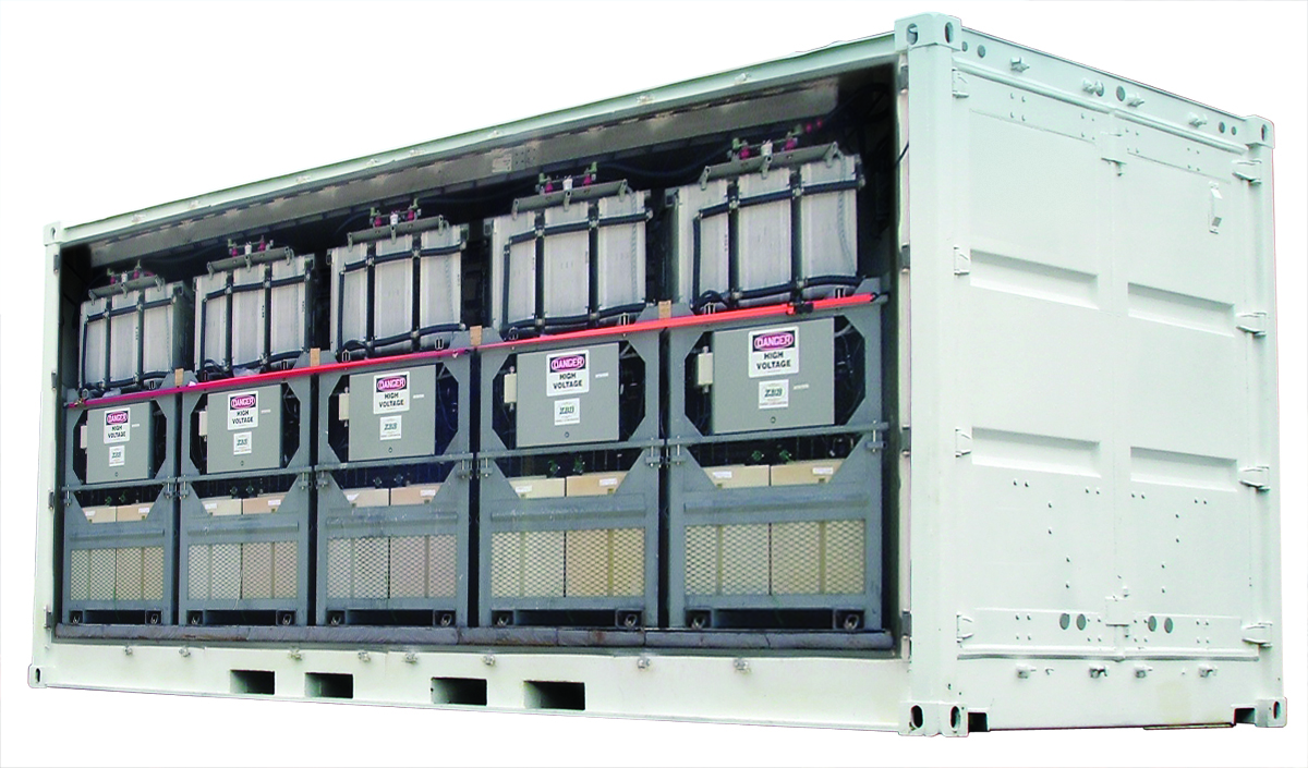 ZBB's flow battery