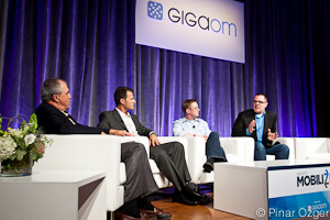 Bob Egan - MGI Research and Analyst, Shlomi Gian - Cotendo, Jeff Haynie - Appcelerator, Scott Kveton - Urban Airship at Mobilize 2011