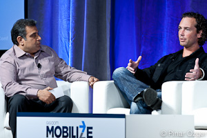 Om Malik talks with Michael Abbott of Twitter at Mobilize 2011