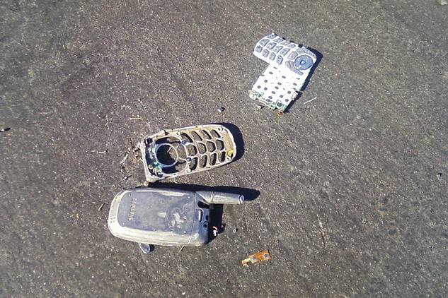 Broken Mobile