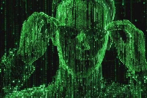 Neo in the Matrix