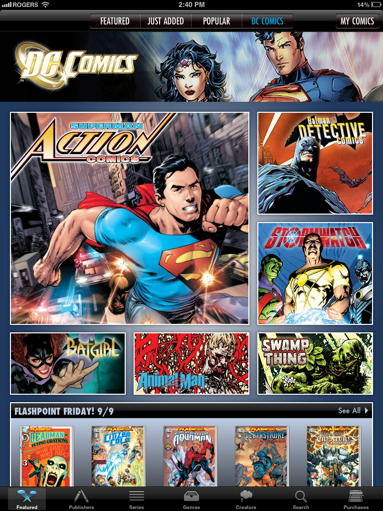 DC Comics Digital