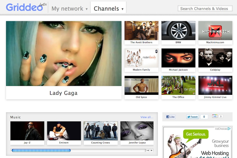 griddeo channels