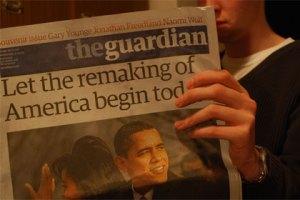 Guardian, CC licensed from Flickr user Stuart Pilbrow