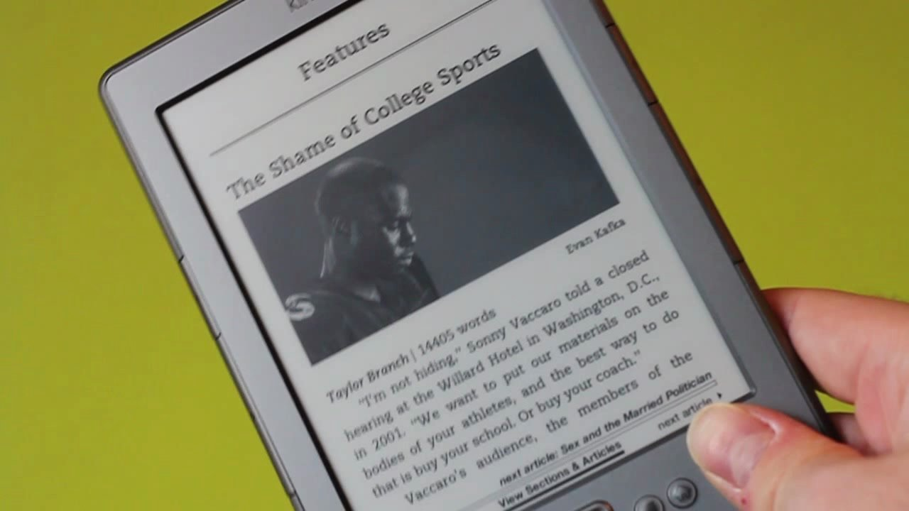 Hands on with the latest Kindle Thumbnail