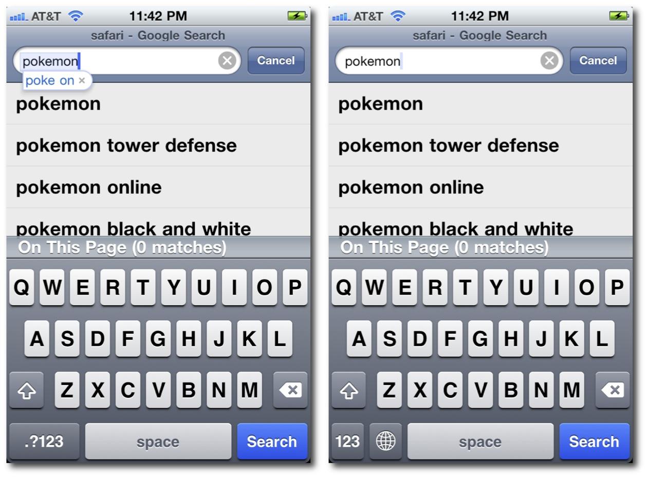Safari Search