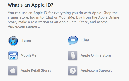 Apple ID Feature