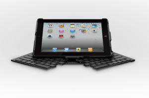 Logitech fold-up keyboard