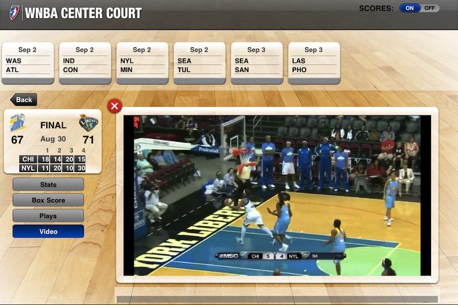 wnba center court