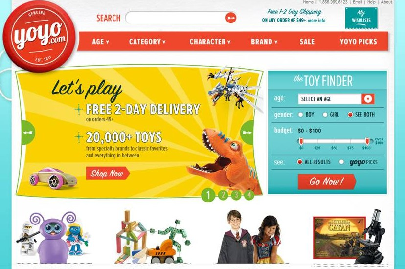 YoYo Homepage