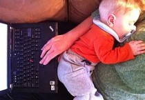 telecommuting childcare