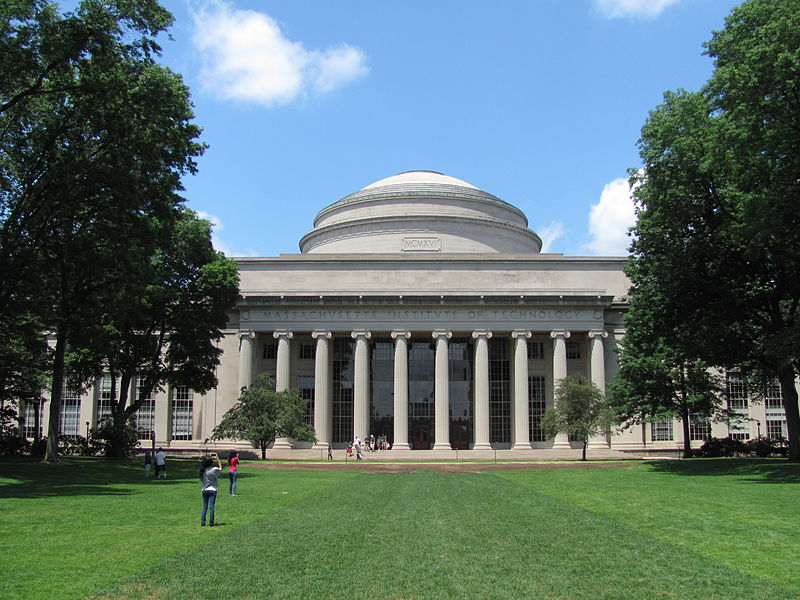 Startups want to lure student interns from universities like MIT (pictured.)
