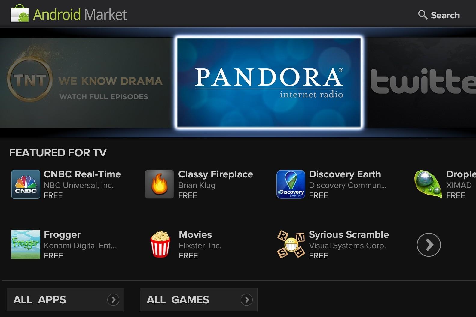 AndroidMarketGTV
