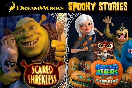 dreamworks spooky stories