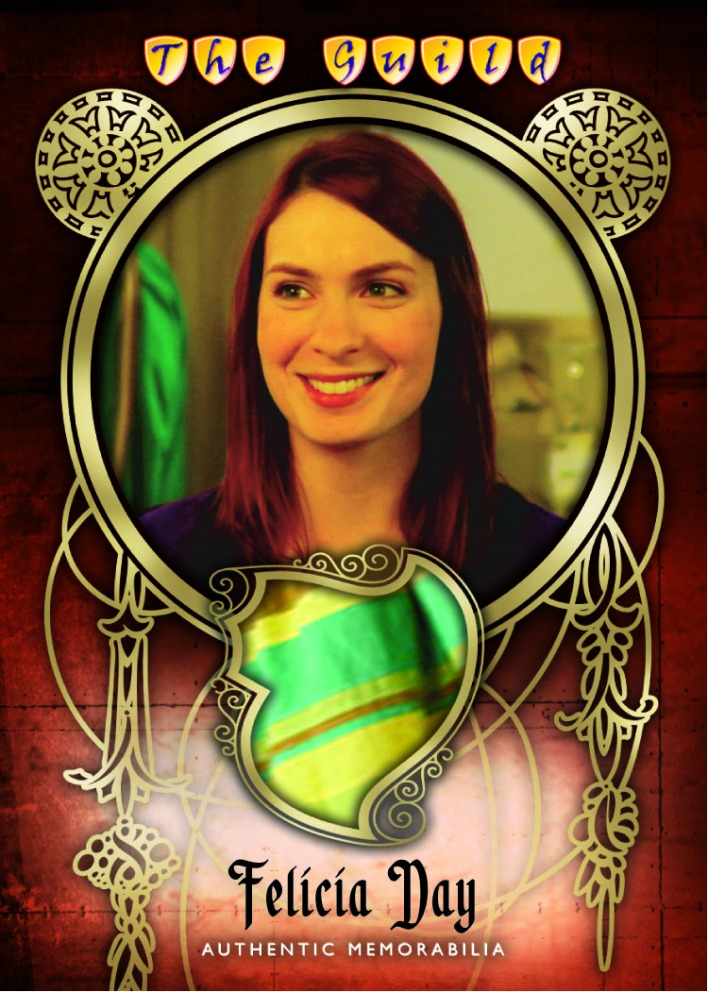 "Cryptozoic's ""Guild"" trading cards, as seen above, will be available this fall."