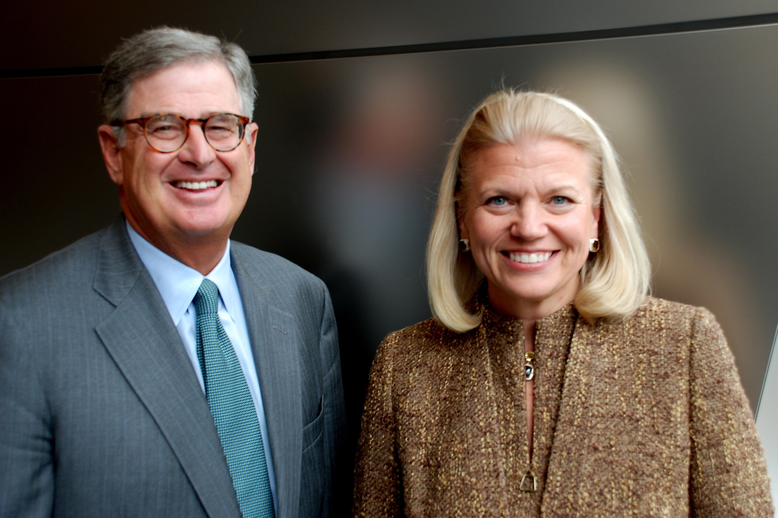"IBM Board of Directors Elects Virginia M. ""Ginni"" Rometty Presid"