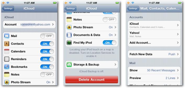 iCloud Setup 1