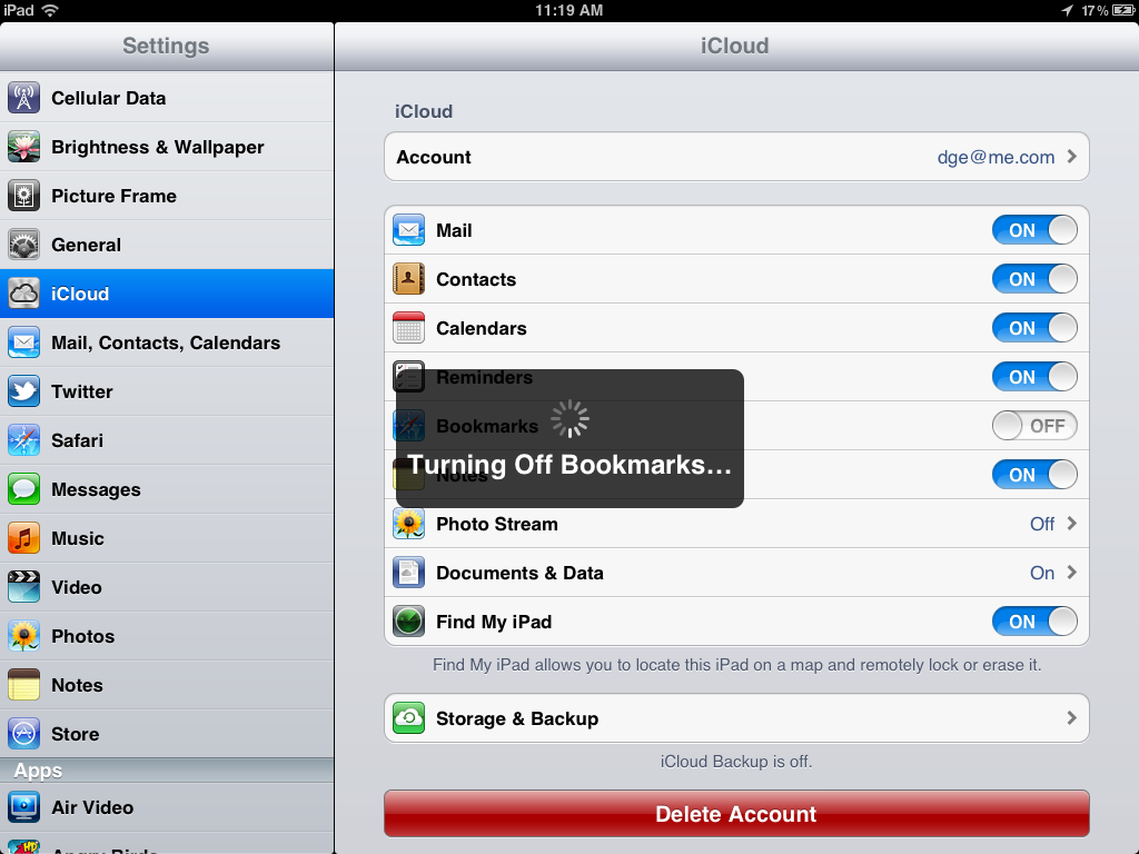 how to find out password from another device by icloud