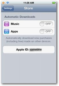 iTunes Setup