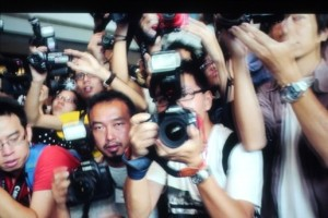 Apple Event 10/4 Paparazzi