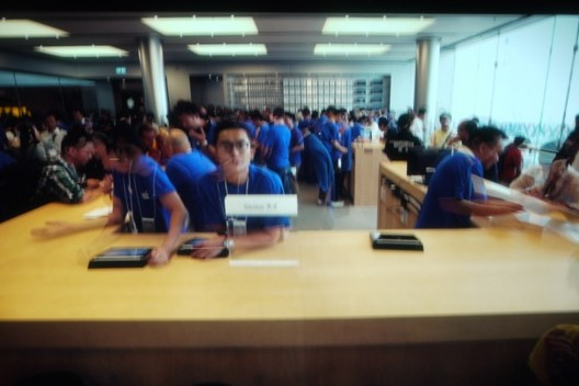 Apple Event 10/4 Apple Store