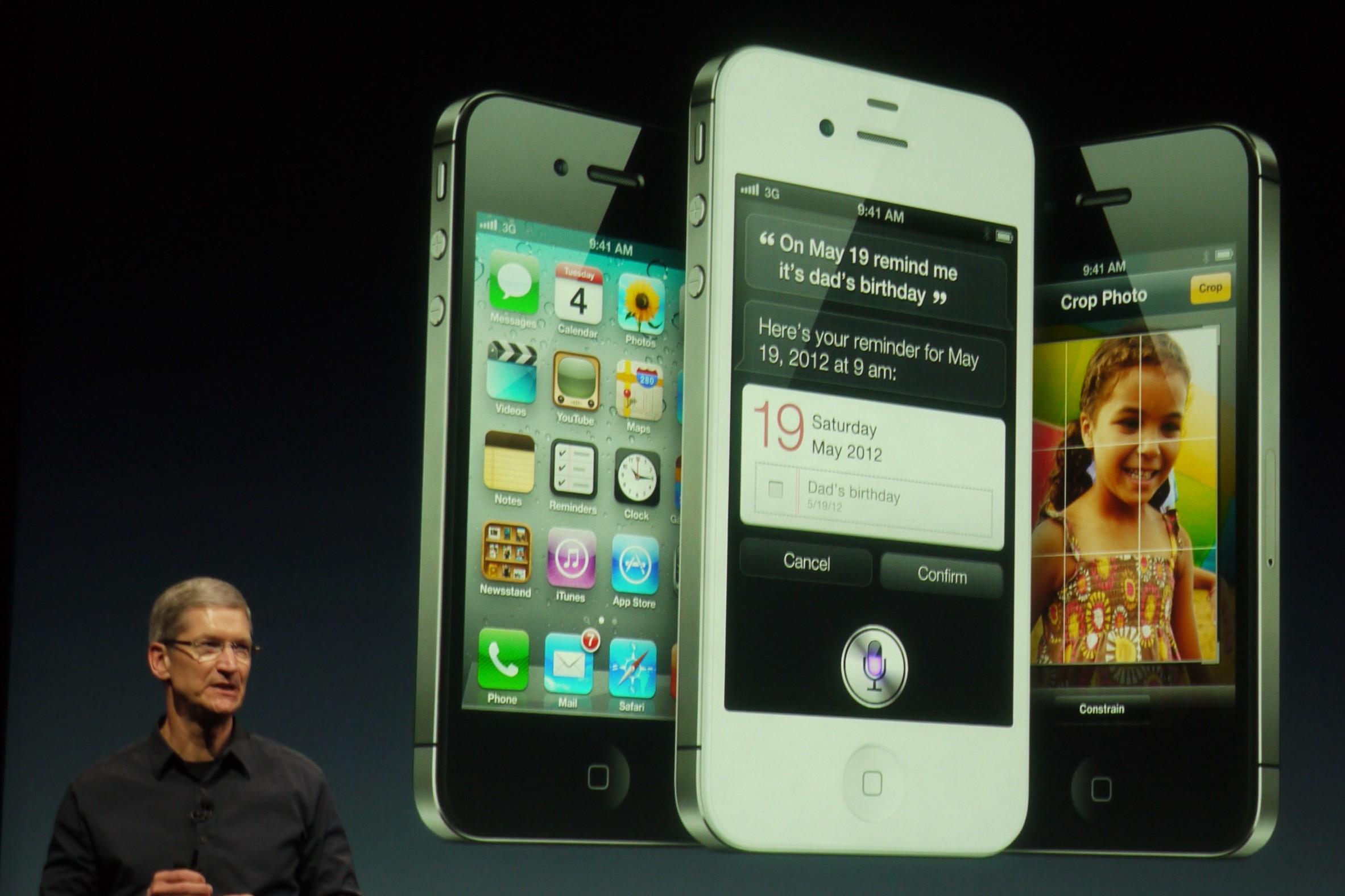 Apple Event 10/4 Tim Cook iPhones