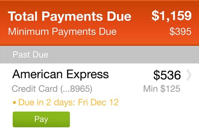 PageonceBillpay_paymentsdue