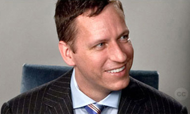 Peter Thiel (photo courtesy of The Thiel Foundation)