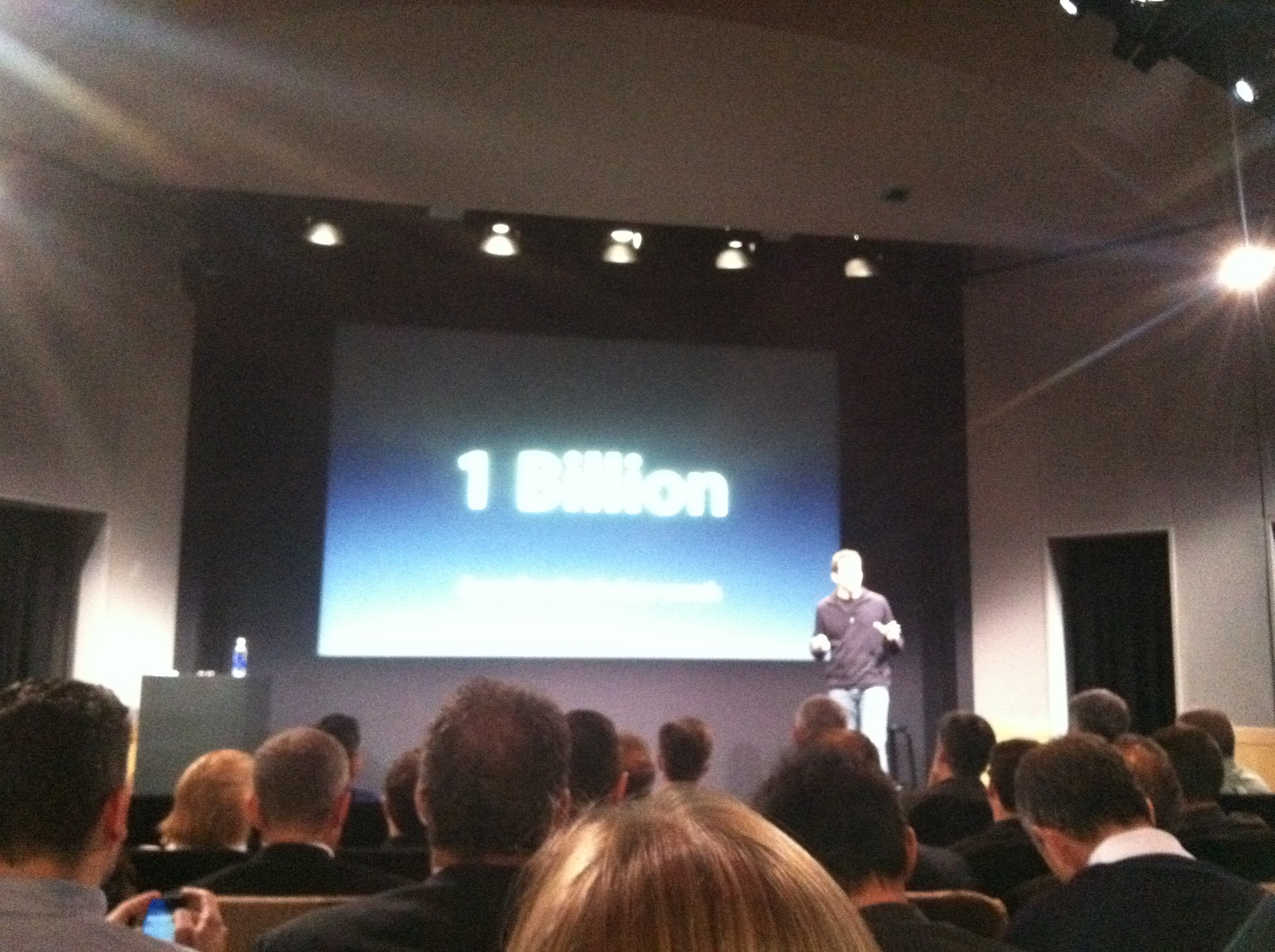 Apple Event 10/4 1 Billion
