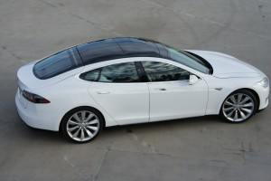 Customer rides of the Model S Beta
