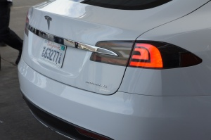 The styling of the Model S Beta