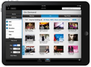 Comcast's Xfinity app