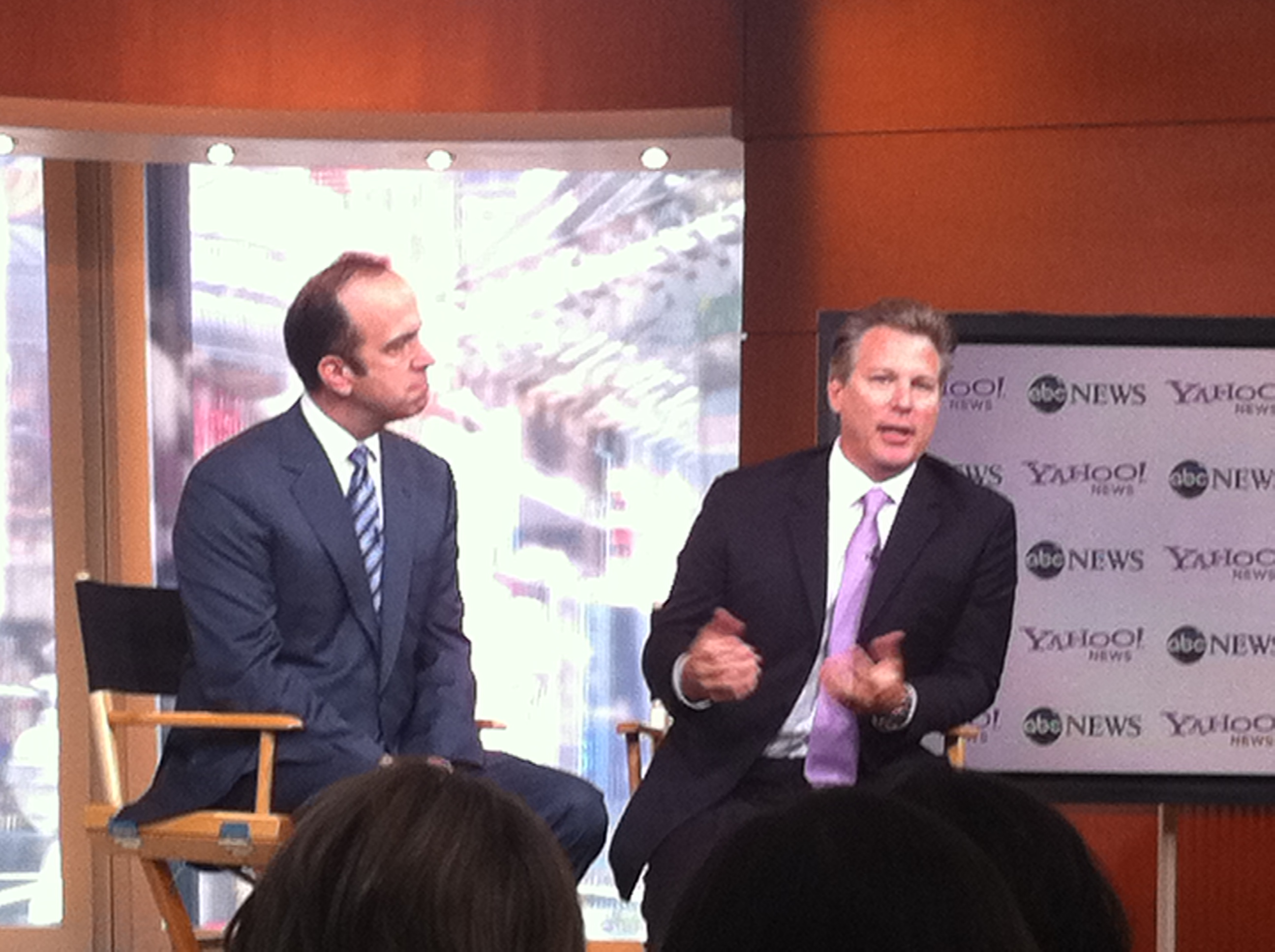 ABC News President Ben Sherwood and Yahoo EVP Ross Levinsohn discuss their news partnership