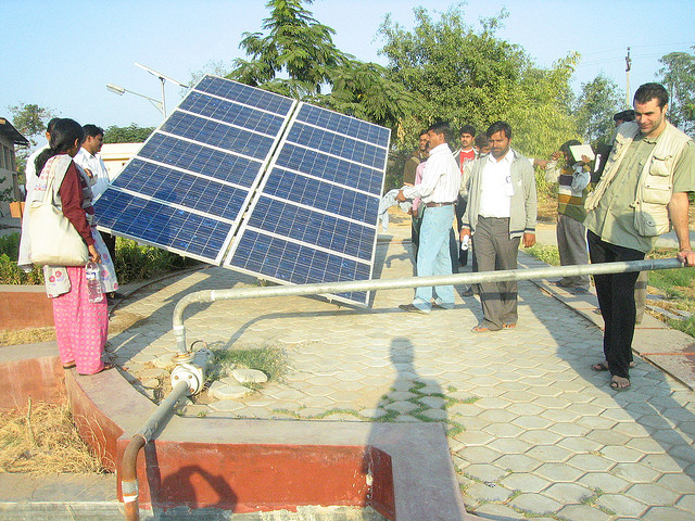 India solar off grid