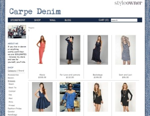 "StyleOwner shop ""Carpe Denim"" (click to enlarge)"