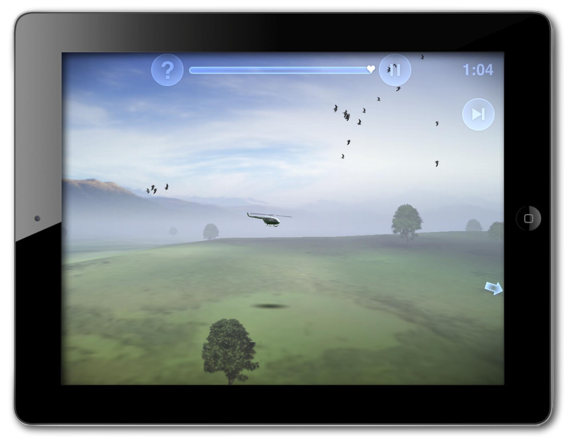 Chopper 2 on iPad 2