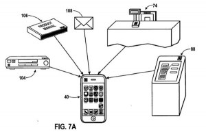 An Apple NFC iPhone patent