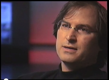 Jobs' screenshot from Lost Interview
