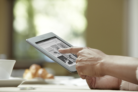 Kindle Touch (cafe)