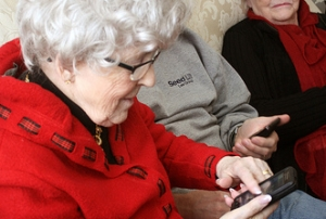 older-smartphone-user