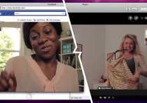 Skype-to-Facebook video calls